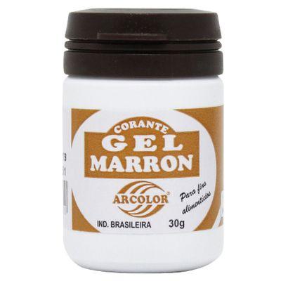 915-Corante-Em-Gel-Marrom-30g-Arcolor