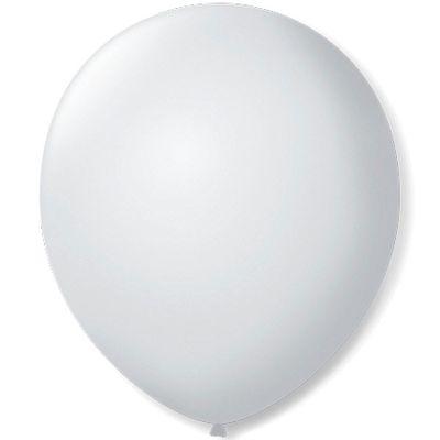 4687-Balao-Liso-N9-Impermeavel-Branco-Polar-com-50-un-SAO-ROQUE