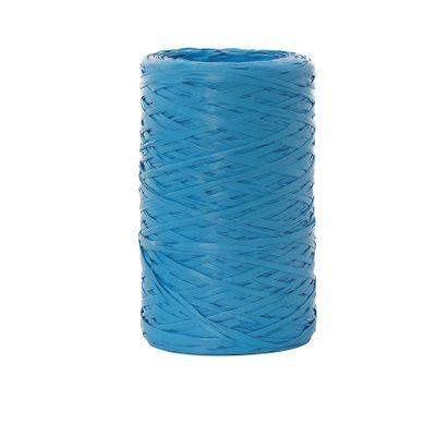 6465-Fita-Rafia-Sintetica-094129-Azul-Claro-com-50m-CROMUS