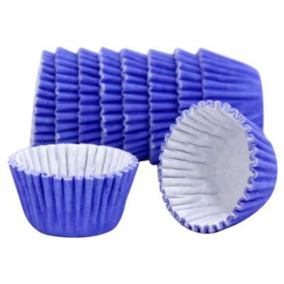 6485-Forminha-de-Papel-Lisa-N4-Azul-Royal-Com-100-Unidades-MAGO