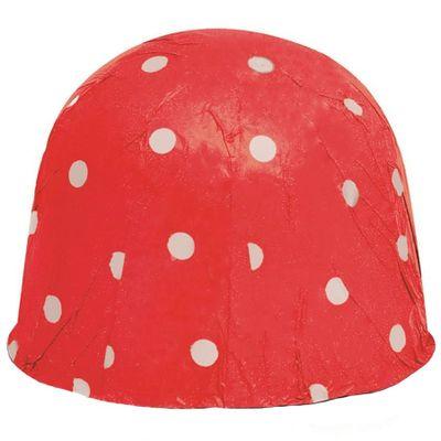 7713---Papel-Chumbo-8x78Cm-Vermelho-Poa-Branco-026502-C300-Unidades-CROMUS