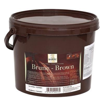 33736-Cobertura-Pate-a-Glacer-Brune-Cacao-Barry-Amargo-Balde-5Kg-CALLEBAUT