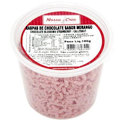 Raspas-de-Chocolate-Morango-chocolate-Blossoms-Strawberry-Callebaut-150g-2