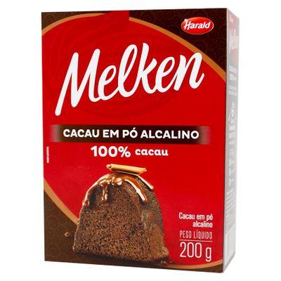 Cacau-em-Po-Alcalino-100-Cacau-200g-Melken-HARALD
