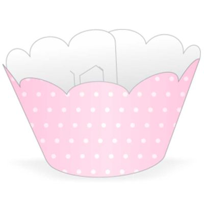 64024-Mini-Wrapper-Cupcake-Poa-Rosa-Branco-NC-TOYS