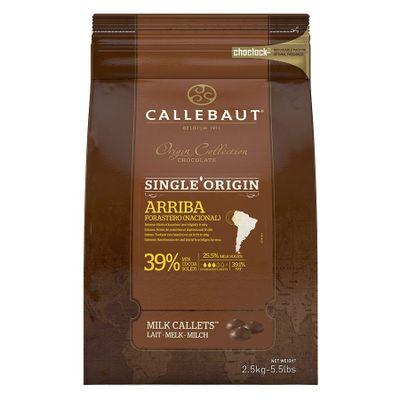 75325-Chocolate-Origens-Ao-Leite-Arriba-39-Cacau---Gotas-2-5KG-CALLEBAUT