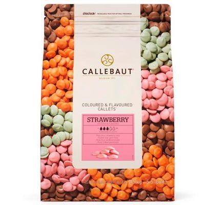 75597---Chocolate-Saborizado-Callebaut-Morango-BR-U75---Gotas-25KG-CALLEBAUT
