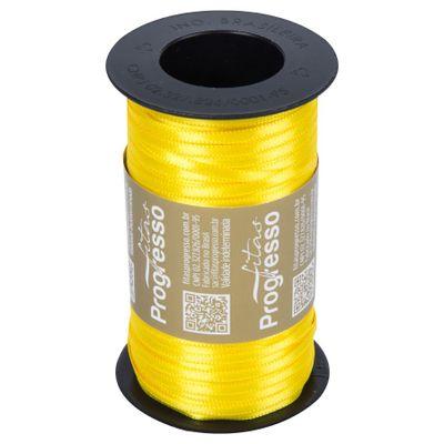 75821-Fita-de-Cetim-Amarelo-Gema-100mx4mm-N-000-763-PROGRESSO