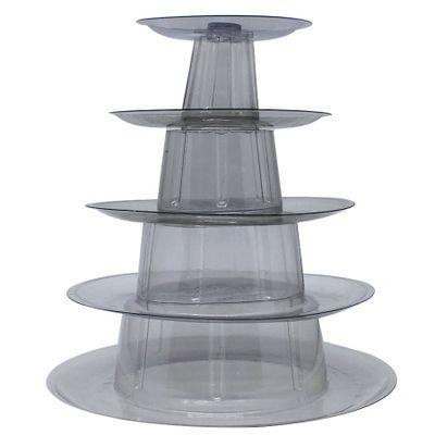 Torre-Para--Macarons-Com-5-Pisos-Cristal-Unidade-SF