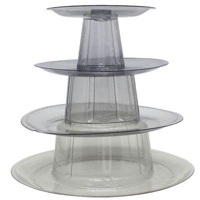 Torre-Para-Macarons-Com-4-Pisos-Cristal-Unidade-SF
