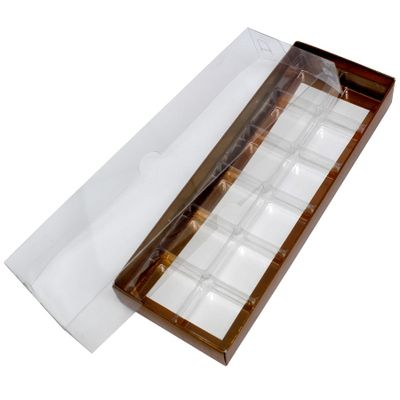 Caixa-Para-Doce-N3-Com-Berco-Bronze-Texturizada-Com-10-Unidades-ASSK