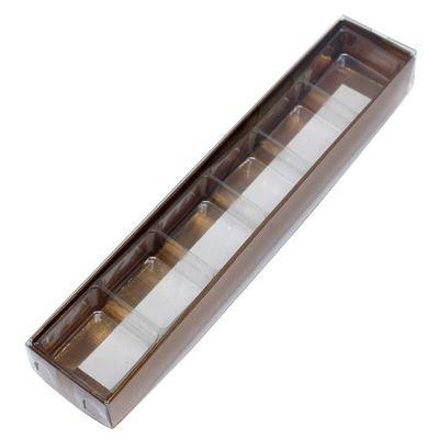 Caixa-Para-Doce-N4-Com-Berco-Bronze-Texturizada-Com-10-Unidades-ASSK