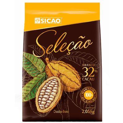 Chocolate-Sicao-Branco-Selecao-32-Cacau-Gotas-205kg-SICAO-loja-santo-antonio