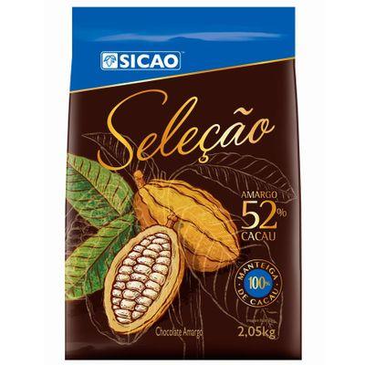 Chocolate-Sicao-Amargo-Selecao-52-Cacau-Gotas-205kg-SICAO-loja-santo-antonio