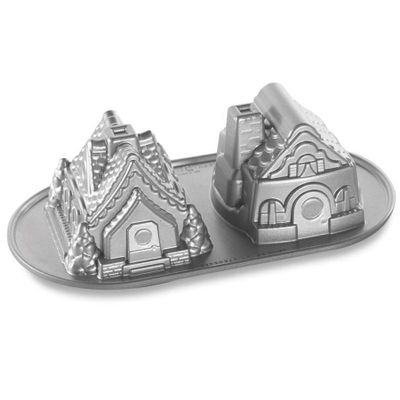 Forma--Bolo-Gingerbread-House-Duet-Pan-NW-86748-Un-NORDIC-WARE