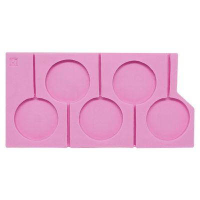 93405-Molde-de-Silicone-Pirulito-com-5-Cavidades-S1002-MOLDS-PLANET