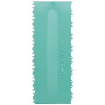 100502-Espatula-Decorativa-X-Verde-Tiffany-BLUESTARNET