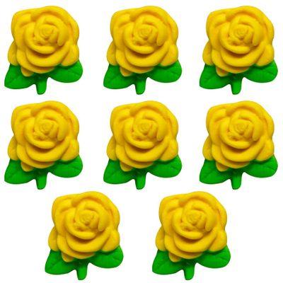 97718-Confeito-de-Acucar-Rosa-Pequena-Amarela-D10-com8-un-ABELHA-CONFEITEIRA