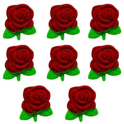 97719-Confeito-de-Acucar-Rosa-Pequena-Vermelha-D10-com8-un-ABELHA-CONFEITEIRA