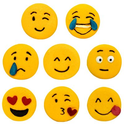 97758-Confeito-de-Acucar-Emojis-D87-com-8-un-ABELHA-CONFEITEIRA