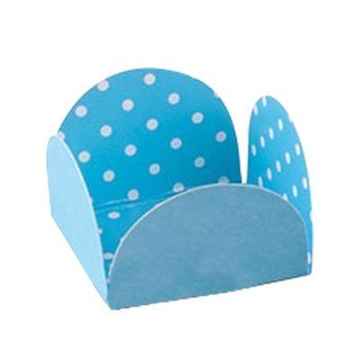 Caixeta-Para-Doce-Azul-Claro-Poa-Branco-35X35