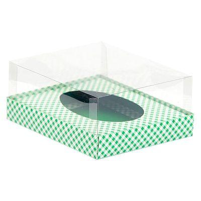 63810-Caixa-Base-1-Ovo-de-Colher-350g-Verde-Xadrez-com-5-un-ASSK