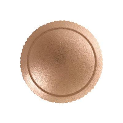98086-Cakeboard-Base-Para-Bolo-Redondo-24cm-Ouro-Rose-ULTRA-FEST