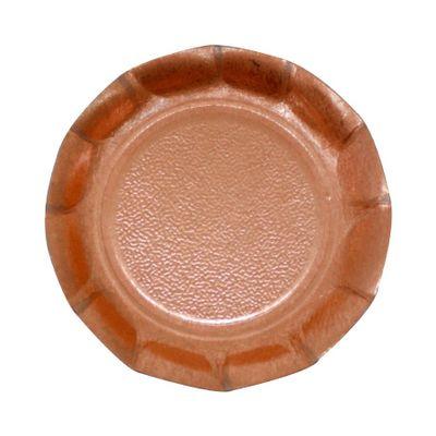 103784-Base-Redonda-com-Borda-Alta-Ouro-Rose-10cm-com-20-un-ULTRA-FEST