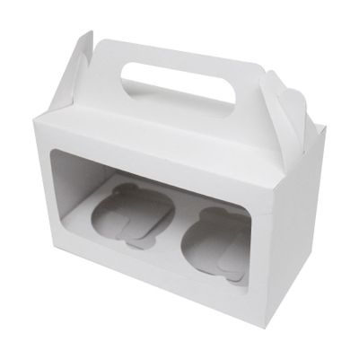 103960-Caixa-Para-Mini-Cupcake-Duplo-com-Visor-Branco-16x18x10cm-com-10-un-YINPACK