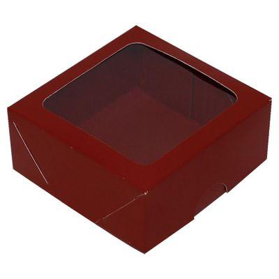 63071-Caixa-S16-7x7x3Cm-Com-10--Vermelha-ASSK