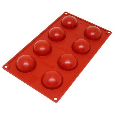 104162-Forma-em-Silicone-Semi-Esfera-Pequena-com-8-Cavidades--420006--CIMAPI