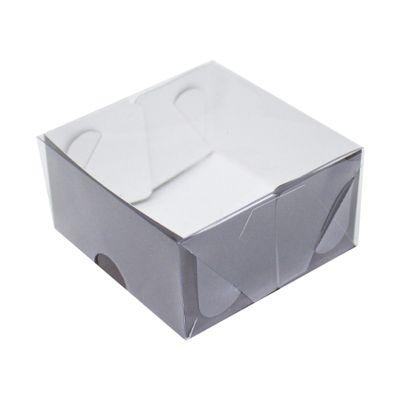 104408-Caixa-Para-Doces-De-Papel-Com-Tampa-De-PVC-Quadrada-N-2-Marrom-Com-10-Un-YINPACK