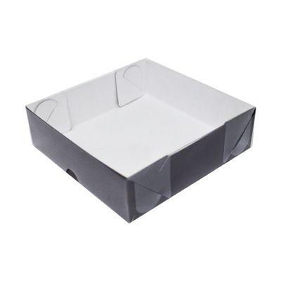 104405-Caixa-Para-Doces-De-Papel-Com-Tampa-De-PVC-Quadrada-N-5-Marrom-Com-10-Un-YINPACK
