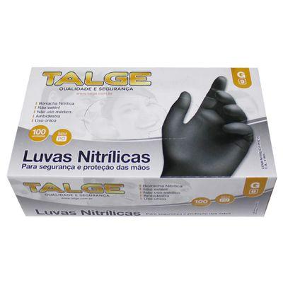 104941-Luva-Nitrilica-Preta-G-Sem-Po-com-100-un-TALGE