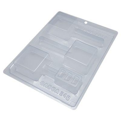 105022-Forma-de-Acetato-com-Silicone-Pirulito-Pao-de-Mel-Quadrado-Medio--9817----BWB