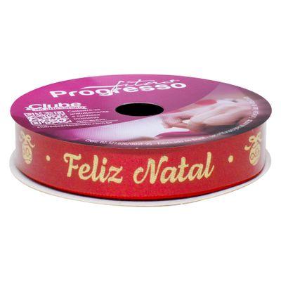 118066-Fita-Natal-Vermelho-com-Dourado-10mx15mm-ECF-003H-Cor-368-PROGRESSO
