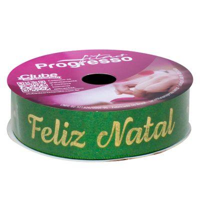 118147-Fita-Natal-Verde-com-Dourado-10mx22mm-ECF-005H-Cor-752-PROGRESSO