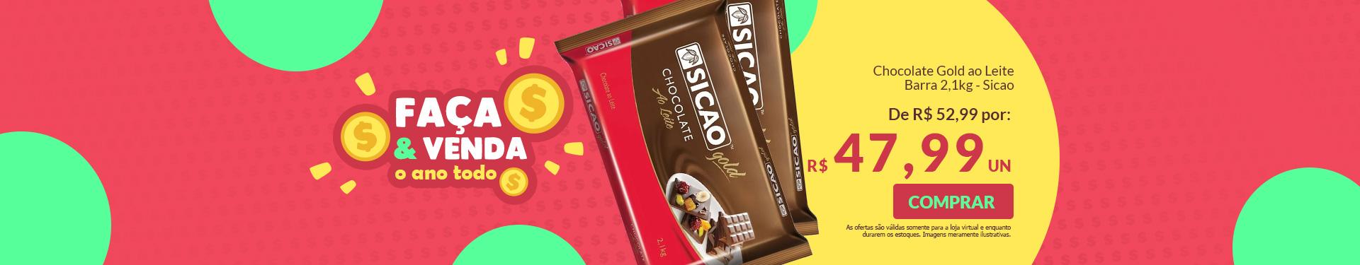 -chocolate gold ao leite