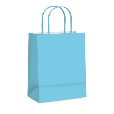 51739-Sacola-Papel-Lisa-Azul-Bebe-M-26X195X95-C-1-un-CROMUS