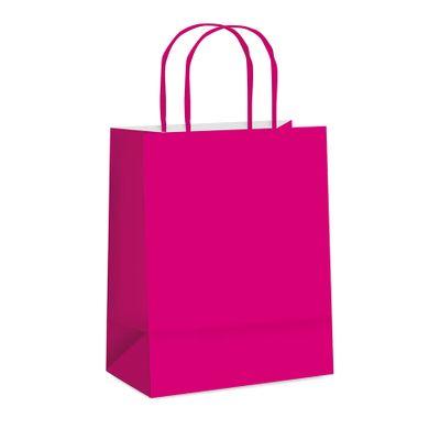 66002-Sacola-Papel-Lisa-Pink-P-215x15x5-C-1-un-CROMUS