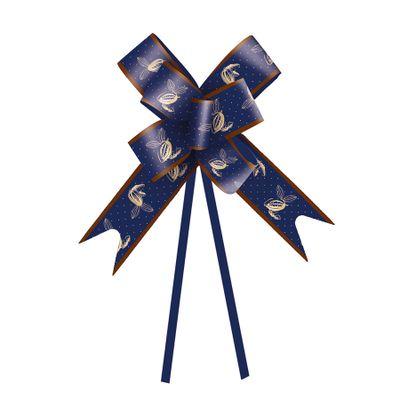 136890-Laco-Pronto-Cacau-Azul-Escuro-23-cm-C-10-un-CROMUS