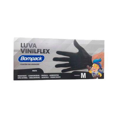 138755-LuvaVinilflex-M-Sem-Po-Preta-Com-100-UN-BOMPACK