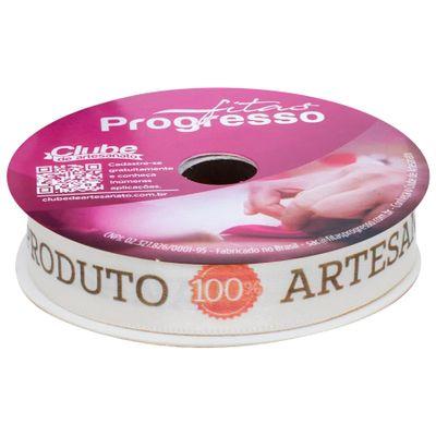 136075-Fita-Produto-100-Artesanal-Nude-10mx15mm-ECF-003D-Cor-109-PROGRESSO