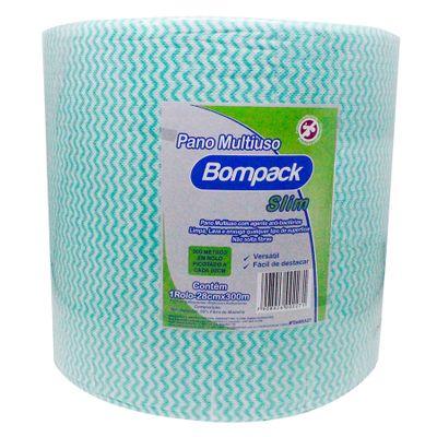 139450-Bobina-Slim-Limpeza-Leve-Verde-28cm-Com-300m---BOMPACK