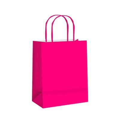 106305-Sacola-Papel-Lisa-Pink-P-215x15x8-C-10-un-CROMUS