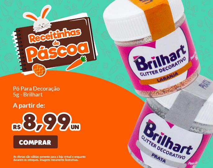 *PÓ PARA DECORAÇÃO 5G BRILHART