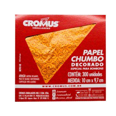 136235-PAPEL-CHUMBO-CHOCOLATIER-LARANJA-10X97-C300-UN---CROMUS