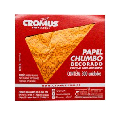 136236-PAPEL-CHUMBO-CHOCOLATIER-LARANJA-8X78-C300-UN---CROMUS