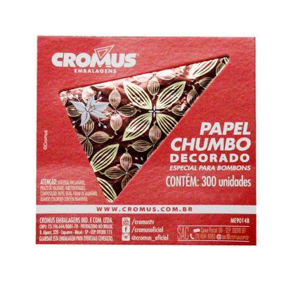 136241-PAPEL-CHUMBO-FLOR-DE-CACAU-MARROM-8X78-C300-UN---CROMUS2