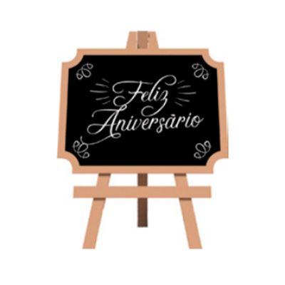 91623-Lousa-Provecal-Feliz-Aniversario-com-Tripe--DC0005--un-GRINTOY